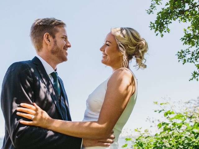 The wedding of Cat and Travis