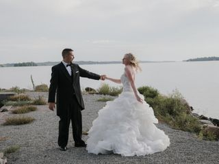 The wedding of Leanne and Jeff