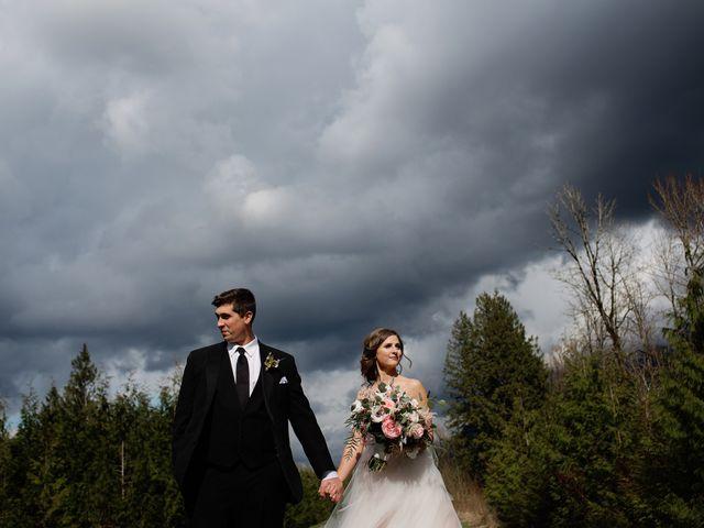 Jake and Nina's wedding in Agassiz, British Columbia 16