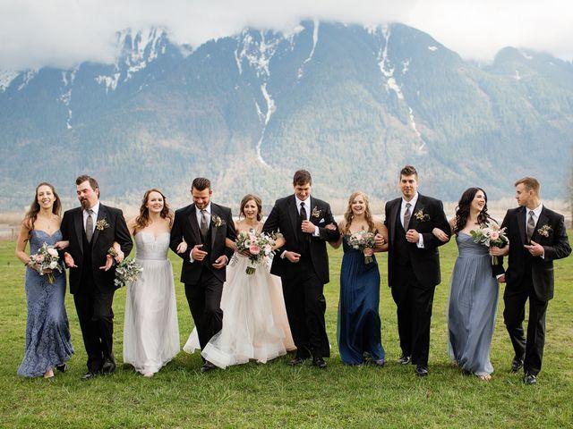 Jake and Nina's wedding in Agassiz, British Columbia 32