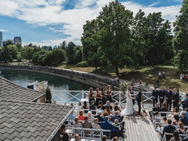 Stefan and Laura's wedding in Vancouver, British Columbia 32