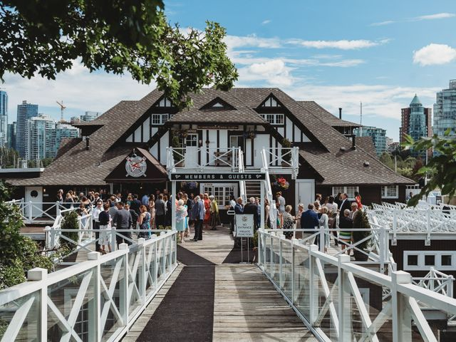 Stefan and Laura's wedding in Vancouver, British Columbia 33