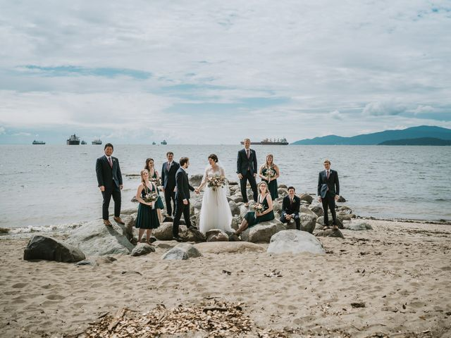 Stefan and Laura's wedding in Vancouver, British Columbia 41