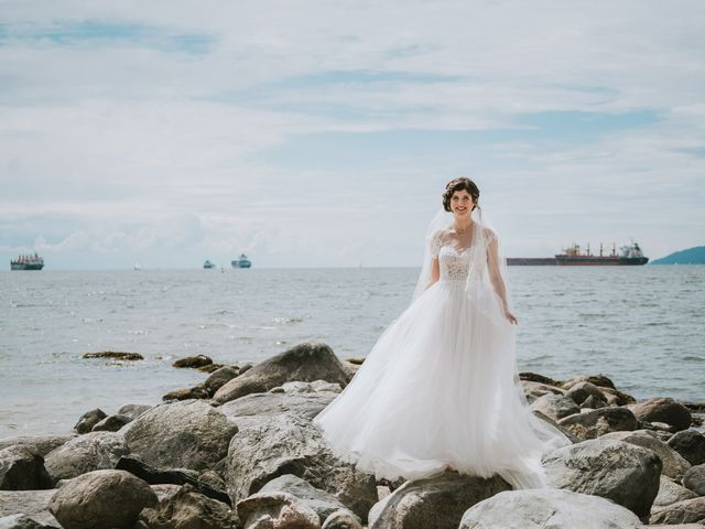 Stefan and Laura's wedding in Vancouver, British Columbia 42