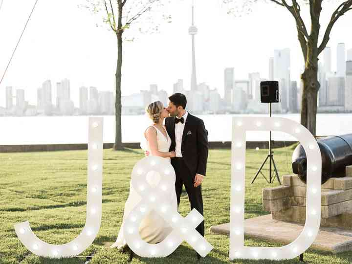 The wedding of Julie and Darren