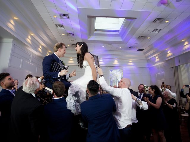 The wedding of Victoria and Adam