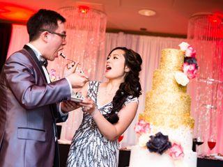 The wedding of Eunice and Arthur