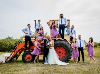 The wedding of Sara and Shaun