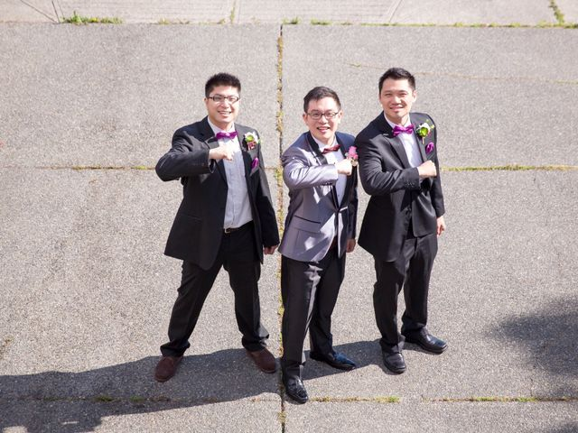 Arthur and Eunice's wedding in Vancouver, British Columbia 9