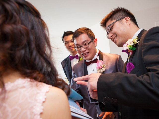 Arthur and Eunice's wedding in Vancouver, British Columbia 12