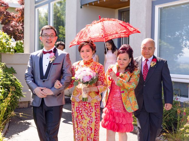Arthur and Eunice's wedding in Vancouver, British Columbia 19