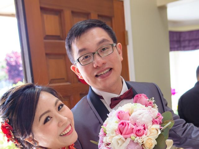 Arthur and Eunice's wedding in Vancouver, British Columbia 23