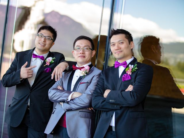 Arthur and Eunice's wedding in Vancouver, British Columbia 38