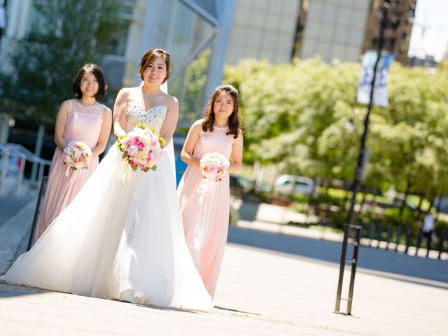 Arthur and Eunice's wedding in Vancouver, British Columbia 42