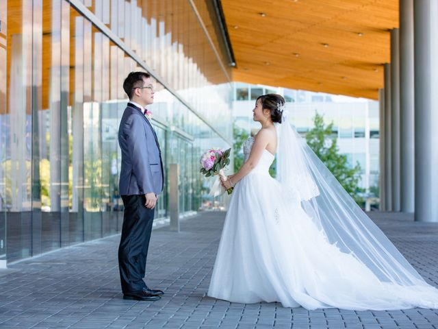 Arthur and Eunice's wedding in Vancouver, British Columbia 43