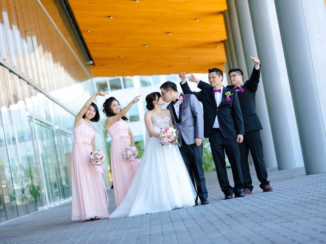Arthur and Eunice's wedding in Vancouver, British Columbia 49