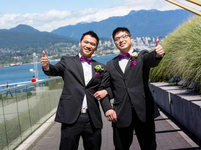 Arthur and Eunice's wedding in Vancouver, British Columbia 50