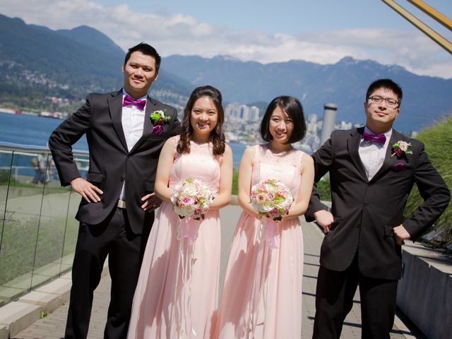 Arthur and Eunice's wedding in Vancouver, British Columbia 52