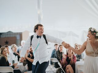 The wedding of Christine  and Sammy