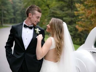 The wedding of Stephanie and Robert