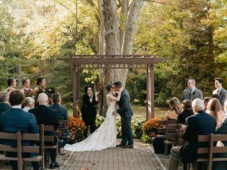 The wedding of Stephanie and Josh
