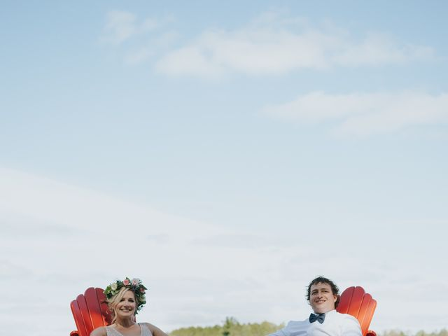 Sammy  and Christine 's wedding in Maynooth, Ontario 5