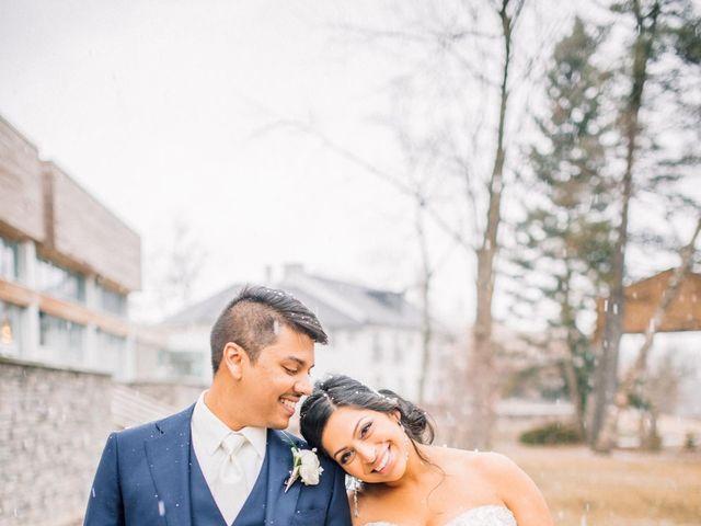 The wedding of Karyn and Ryan