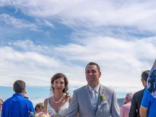 The wedding of Leann and Rockwell 1