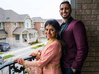 The wedding of Arsh and Amrit