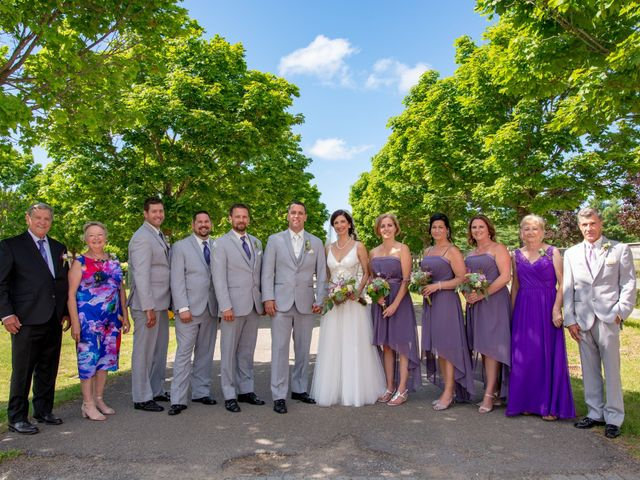 Rockwell and Leann's wedding in Bouctouche, New Brunswick 4