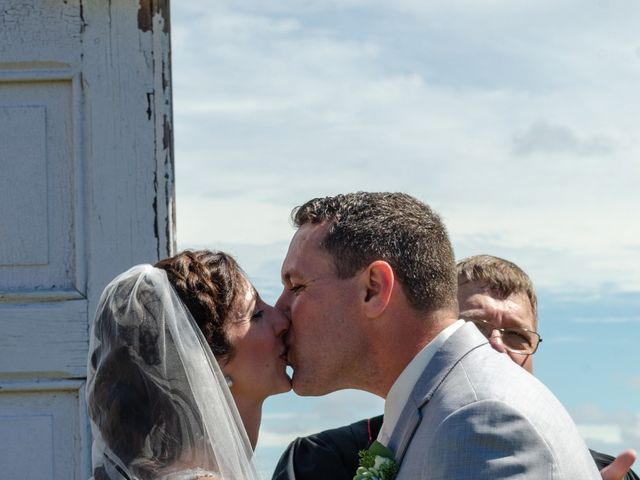 Rockwell and Leann's wedding in Bouctouche, New Brunswick 6