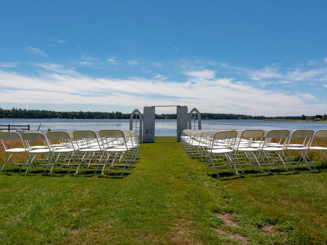 Rockwell and Leann's wedding in Bouctouche, New Brunswick 2