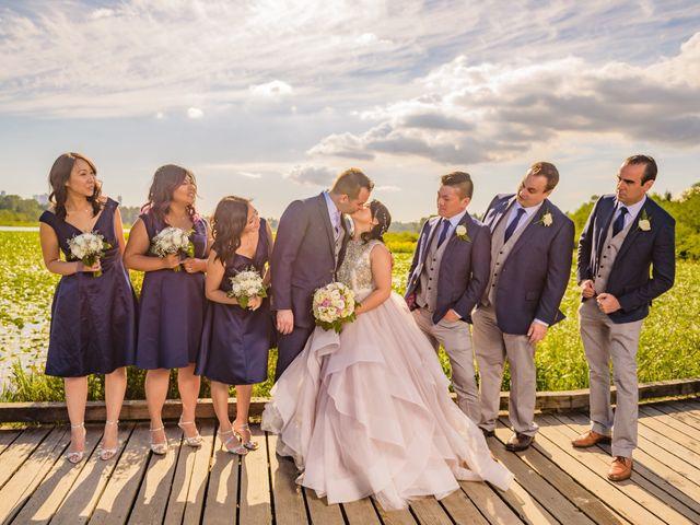 Ken and Maggie's wedding in Burnaby, British Columbia 16