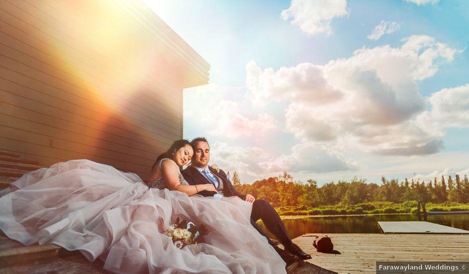 Ken and Maggie's wedding in Burnaby, British Columbia