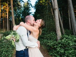 The wedding of Cait and Mike