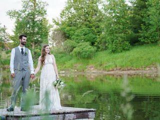 The wedding of Alexandra and Jordan