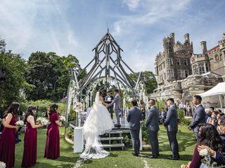 The wedding of Sarah and Nathaniel 1