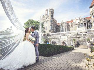 The wedding of Sarah and Nathaniel
