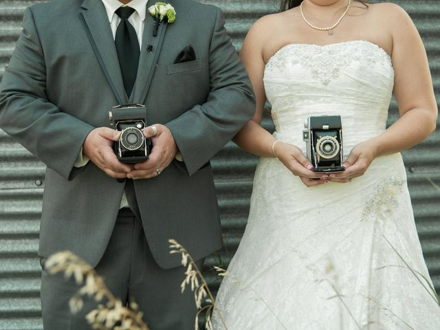 The wedding of Errin and Rob