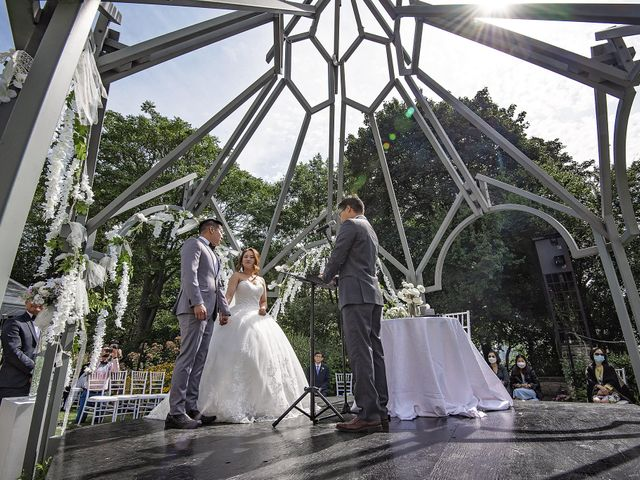 Nathaniel and Sarah's wedding in Toronto, Ontario 4