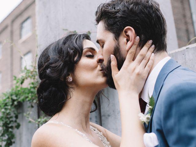 The wedding of Sahar and Josh