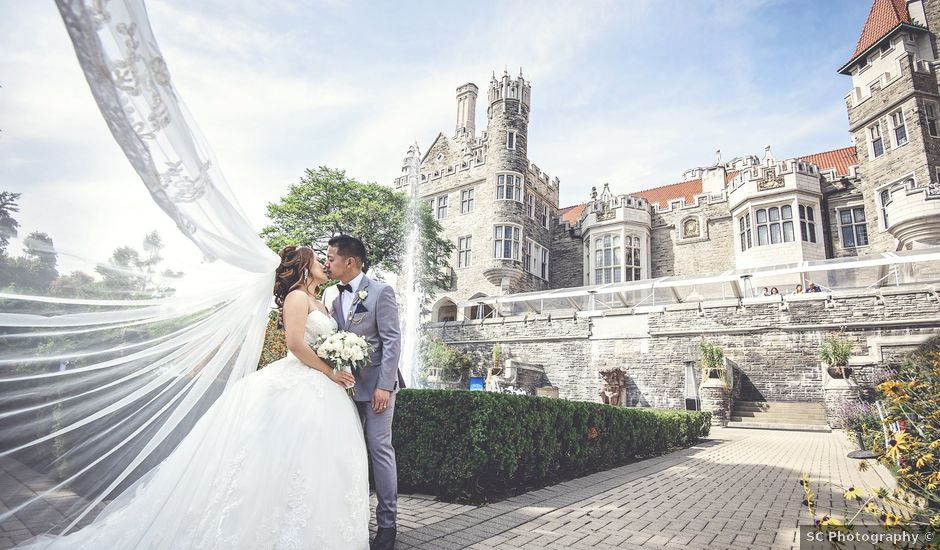 Nathaniel and Sarah's wedding in Toronto, Ontario