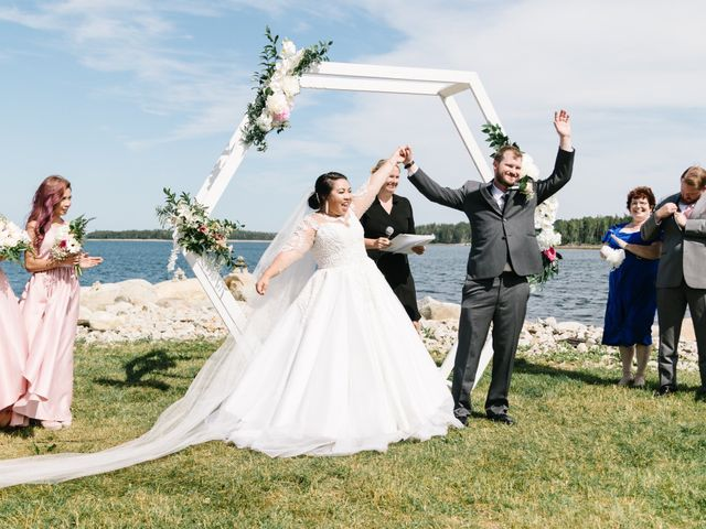 Steven and Lyana's wedding in Western Shore, Nova Scotia 9