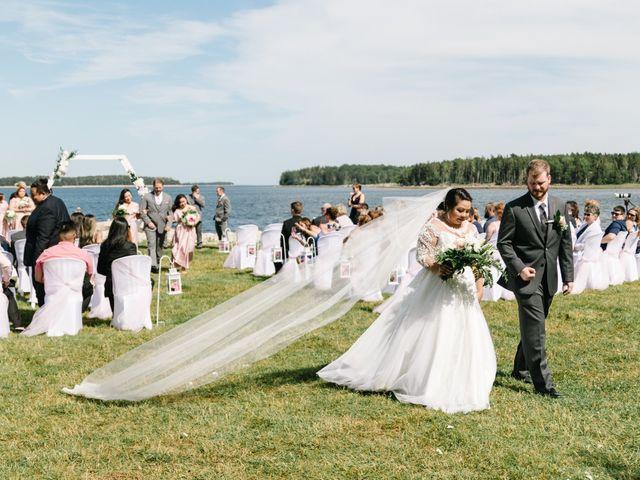 Steven and Lyana's wedding in Western Shore, Nova Scotia 1