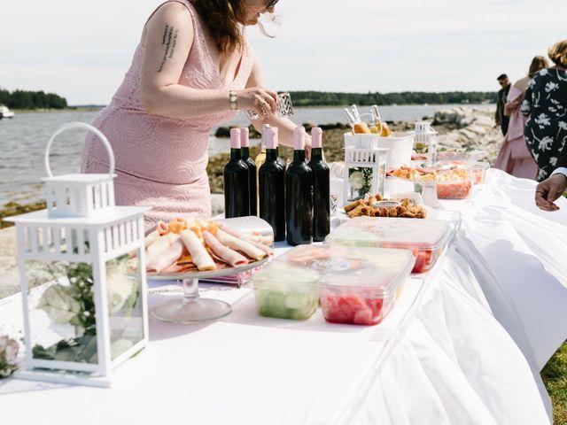 Steven and Lyana's wedding in Western Shore, Nova Scotia 2