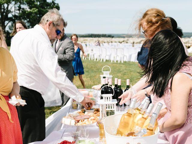 Steven and Lyana's wedding in Western Shore, Nova Scotia 12