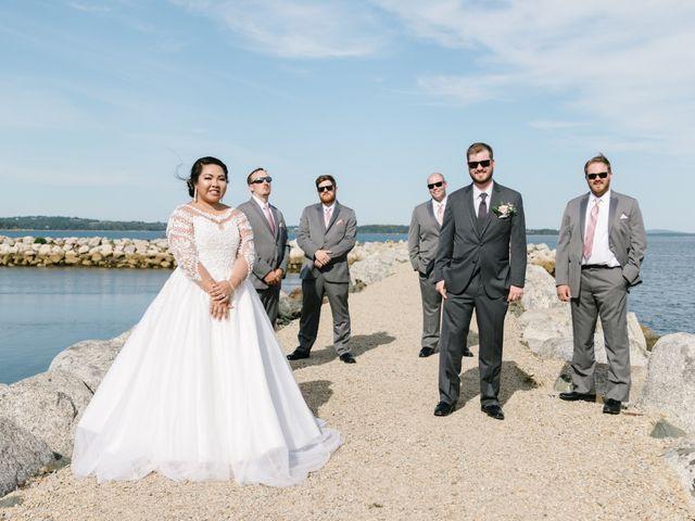 Steven and Lyana's wedding in Western Shore, Nova Scotia 13