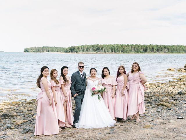 Steven and Lyana's wedding in Western Shore, Nova Scotia 14