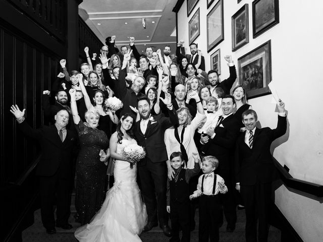 Ehrin and Kellie's wedding in Toronto, Ontario 58