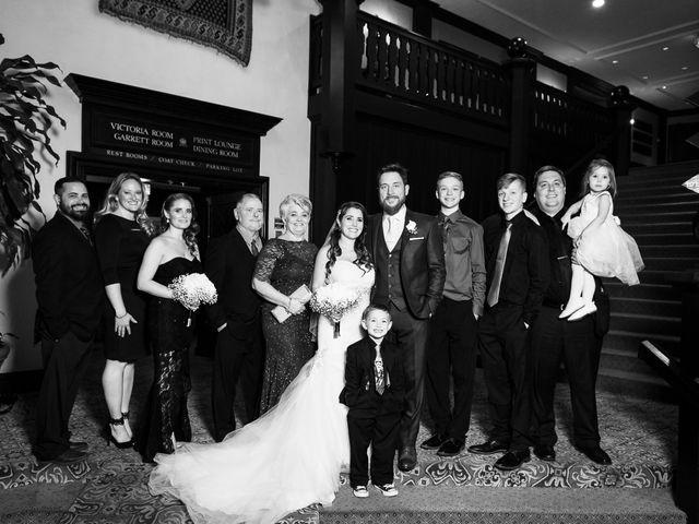 Ehrin and Kellie's wedding in Toronto, Ontario 60